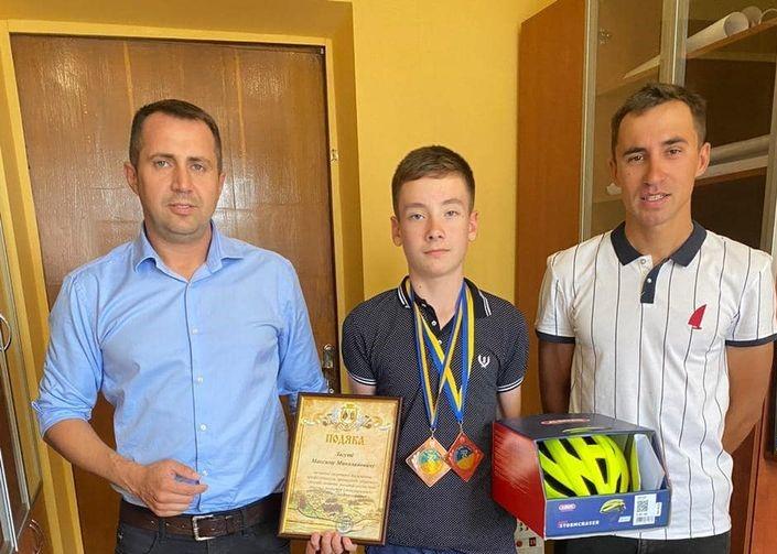 Юний велосипедист із Вишгорода став призером чемпіонату України -  - Laguta obr 1