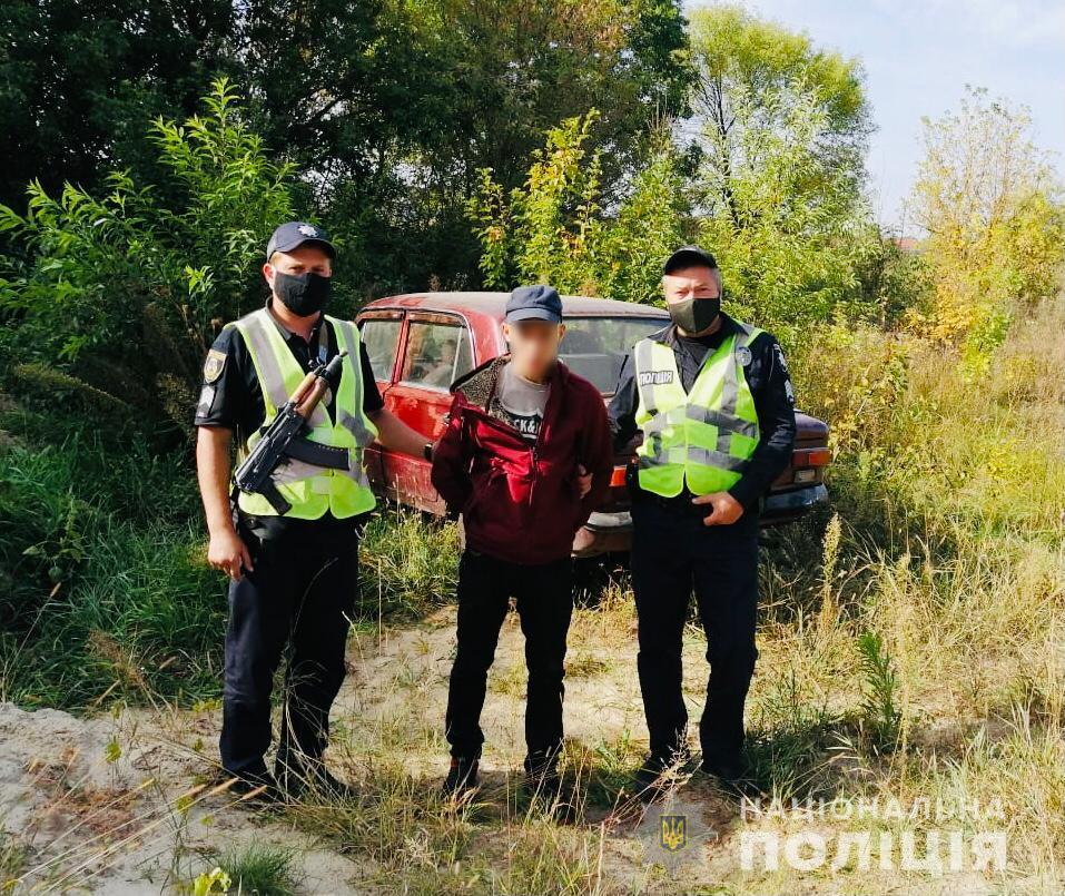 Хотів похизуватись: у Макарові затримали неповнолітнього серійного автовикрадача -  - MakarivNepovnolitnij1