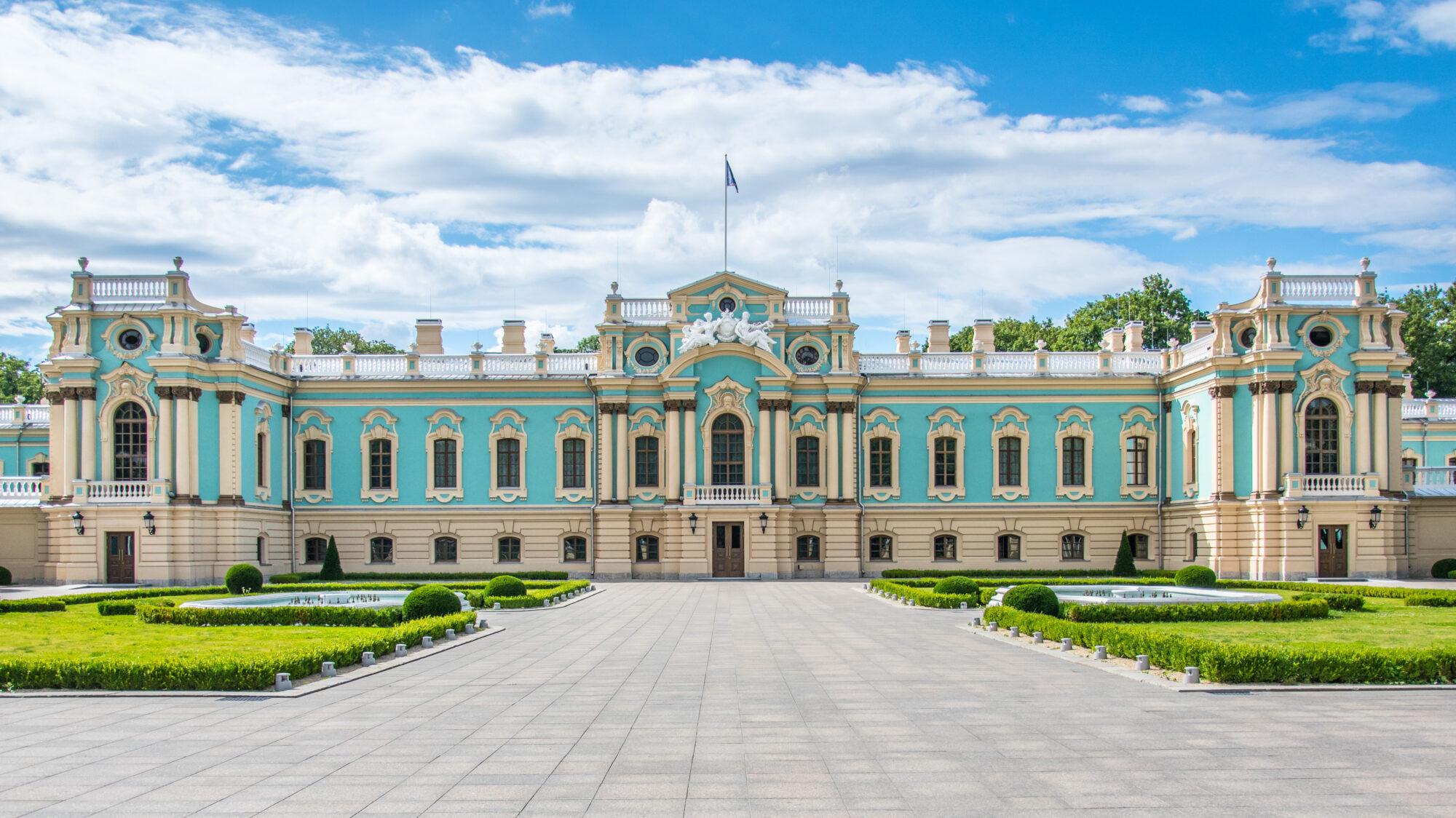 У Києві після ремонту відкрився Маріїнський палац - Реставрація, екскурсії - Mariyinskyj palats v Kyyevi cropped 2000x1124