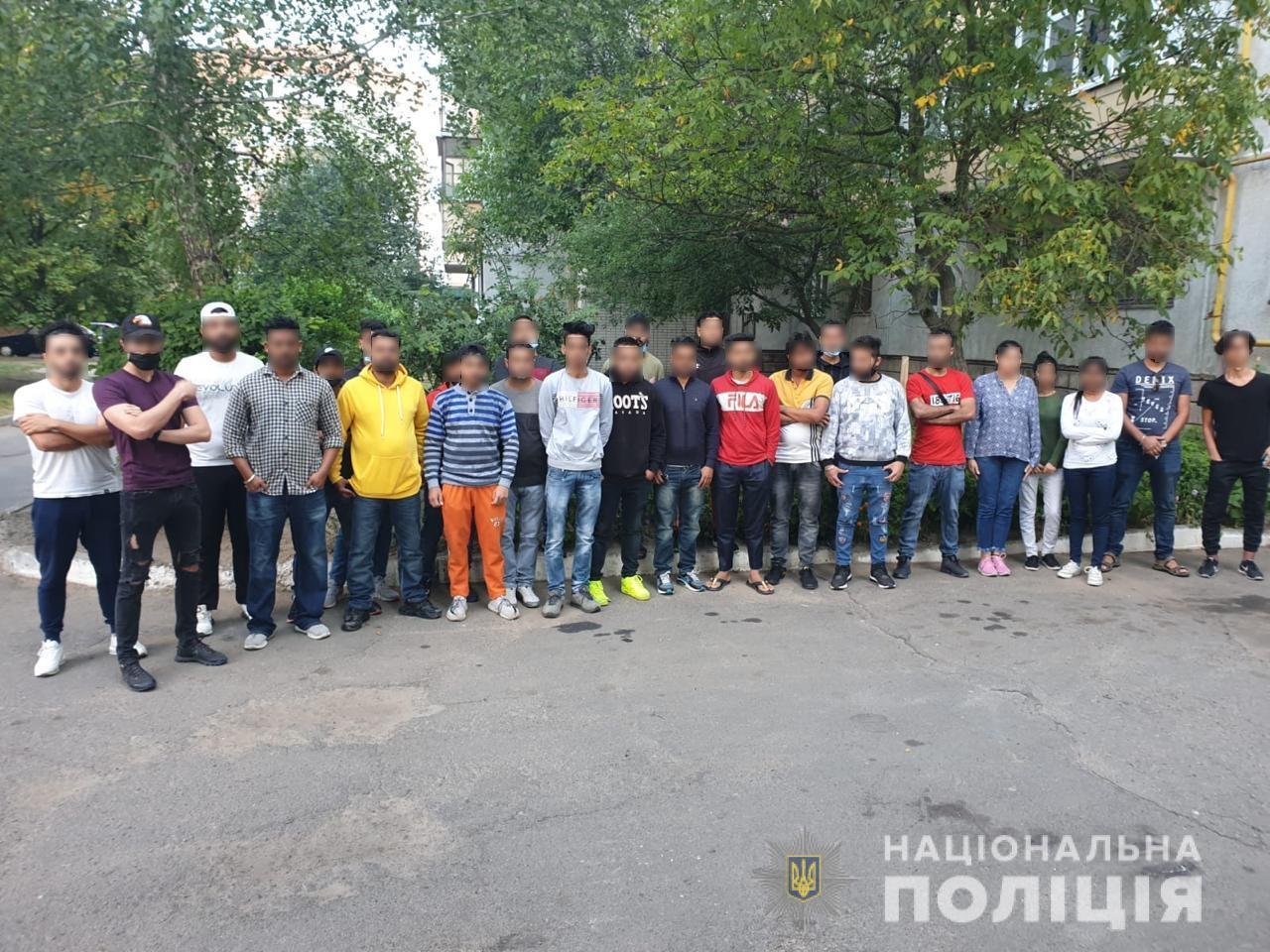 У гуртожитку білоцерківського вишу виявили 26 нелегалів - поліція Київщини, нелегали - Nelegaly1
