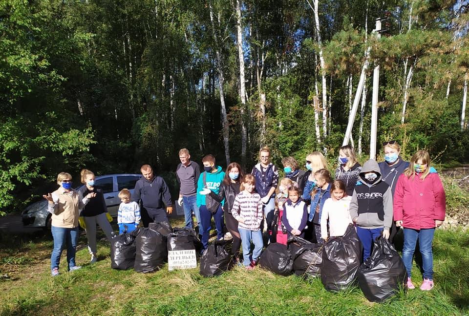 «Люди, схаменіться!»: в Ірпені прибирали сміття - толока, Приірпіння, прибирання міста, київщина, екологія - Pryb osvita