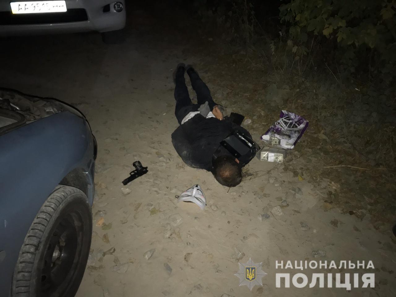 На Обухівщині затримали банду нападників на підприємця - іноземці, банда - Rozbij4