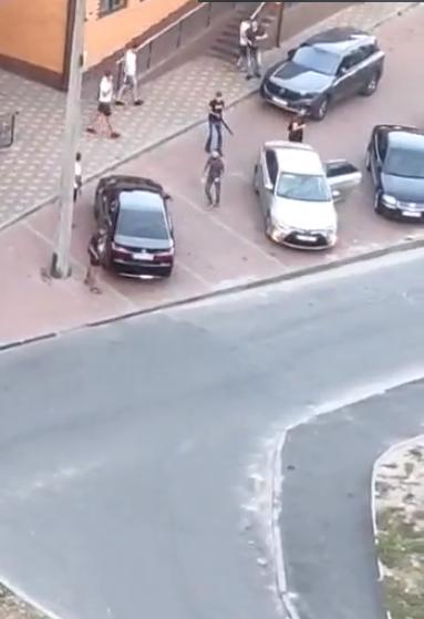 Стрілянина в Українці: поліція Київщини встановлює учасників інциденту -  - Screenshot 45
