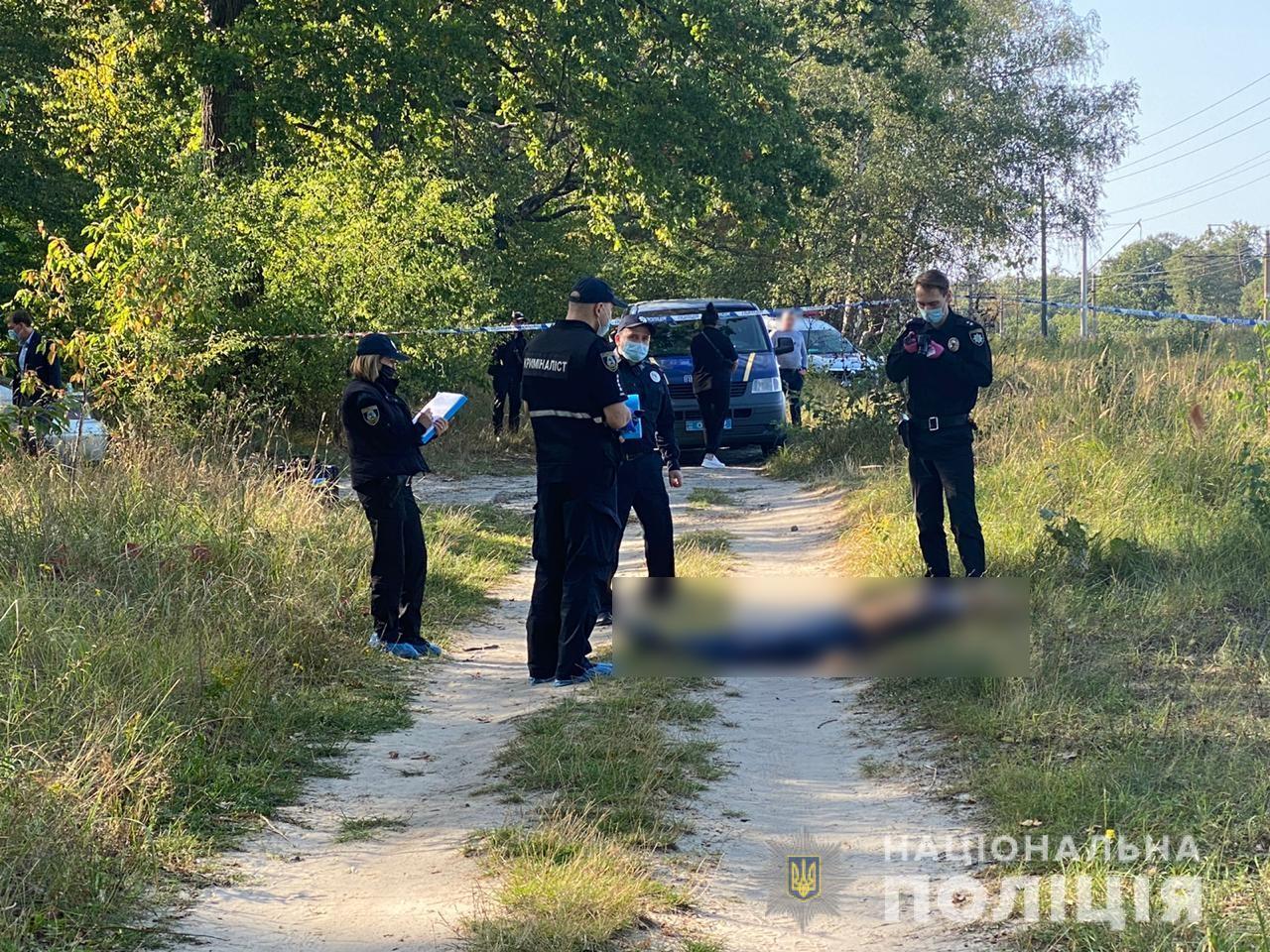 У Ворзелі знайшли вбитого чоловіка -  - Vbyvstvo1.jpeg