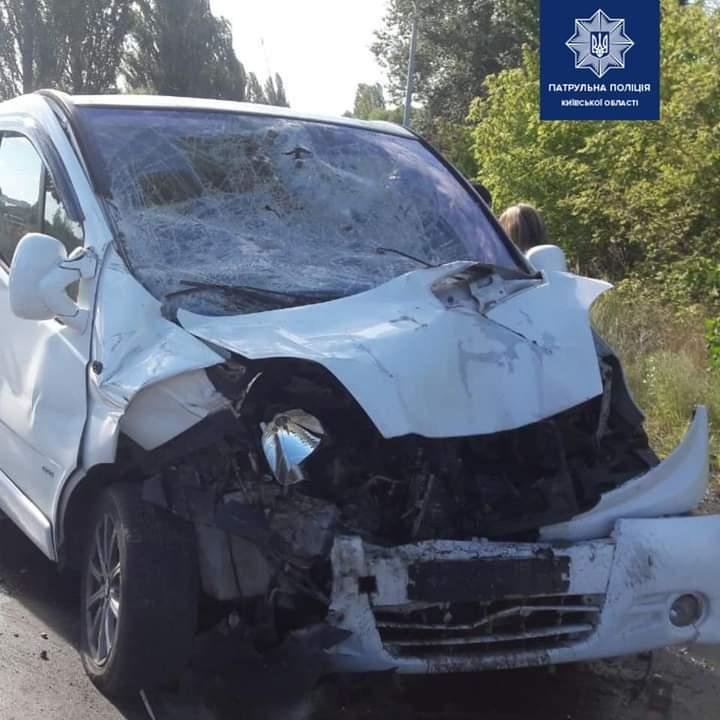 Аварія у Ворзелі: відкрили кримінальне провадження - Приірпіння, Поліція, київщина, Ірпінський відділ поліції, ДТП з потерпілим - Vorz DTP 1