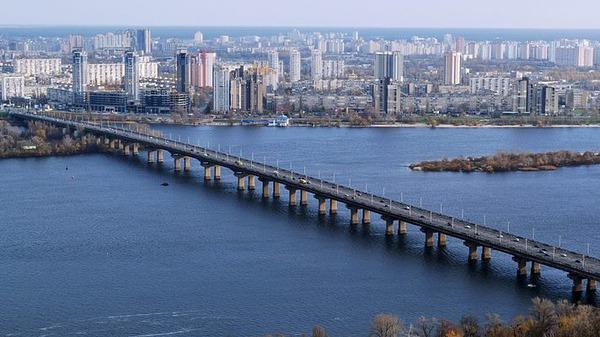 Кличко повідомив про хід робіт з реконструкції моста Патона - Ремонт, міст - original