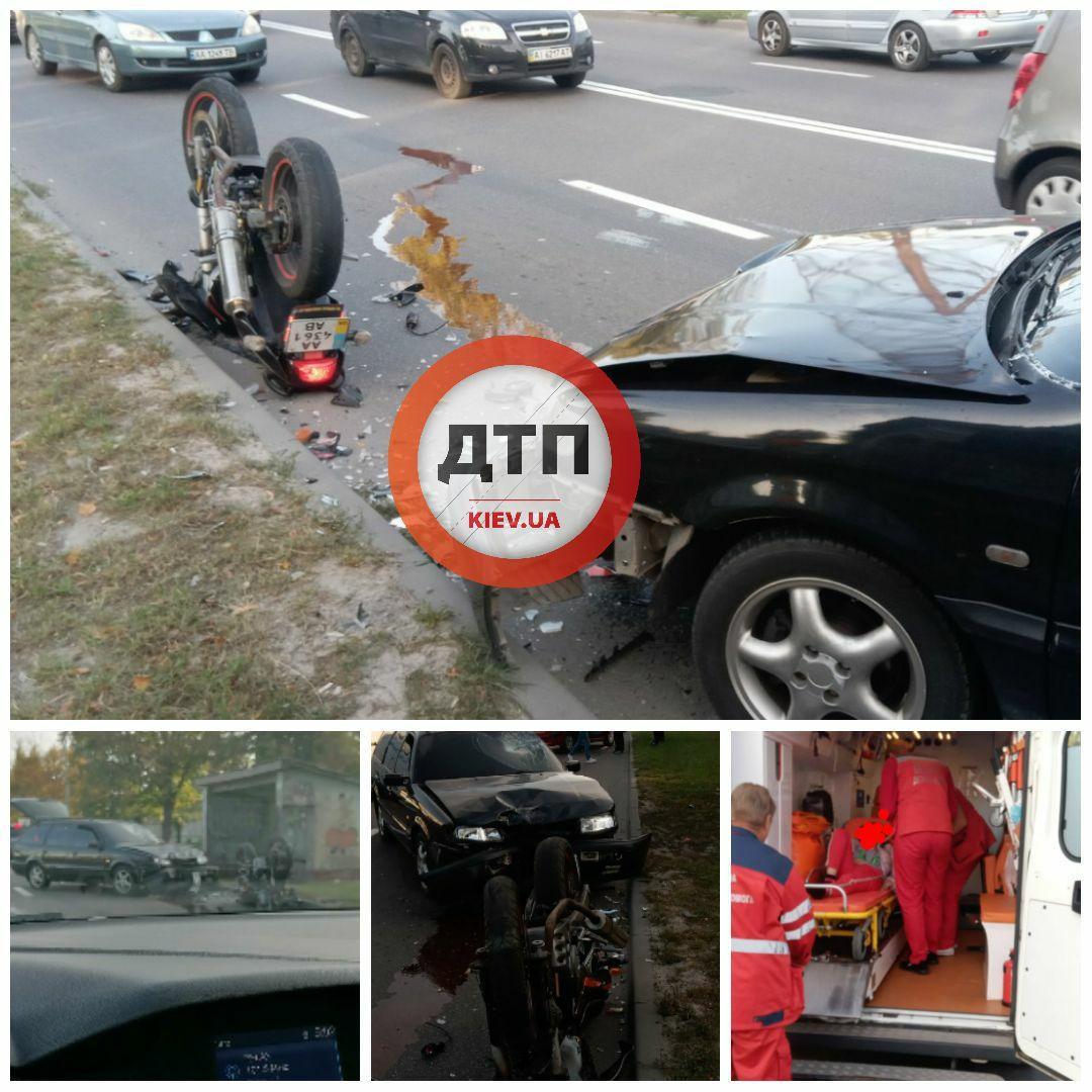 Затори із Святопетрівського: лобове зіткнення авто і мото у Вишневому -  - photo 2020 09 24 09 33 30