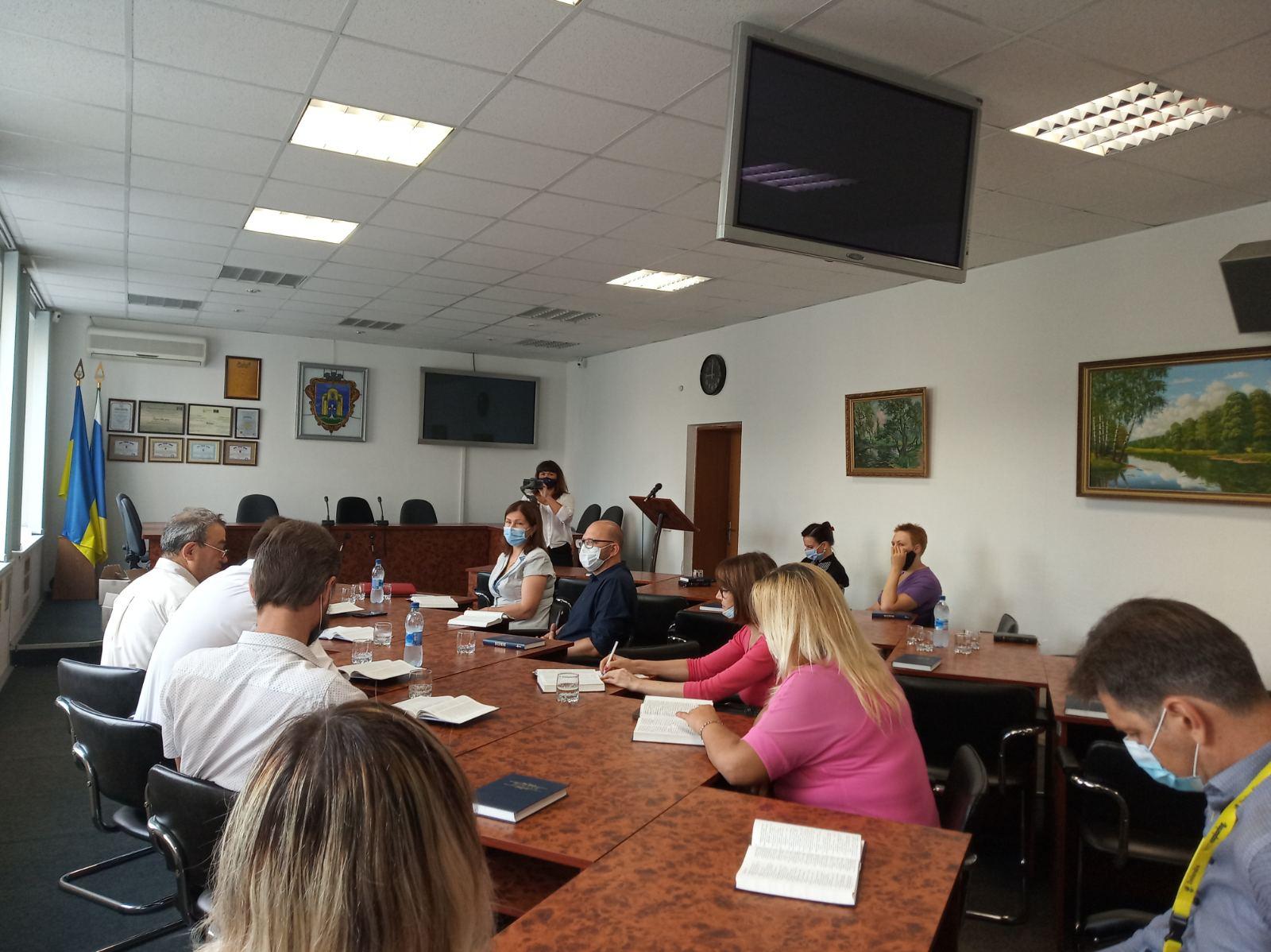 У Броварах обговорили запровадження християнської етики у школах міста -  - yzobrazhenye viber 2020 09 04 08 11 40