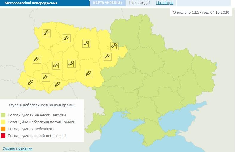 Мешканців Київщини попередили про шквали - шквальний вітер, шквал - 04 veter