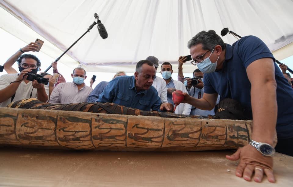 В Єгипті відкрили саркофаг з 2500-річною мумією: що було всередині? - Єгипет, археологія, археологічні розкопки - 06 grobnytsa