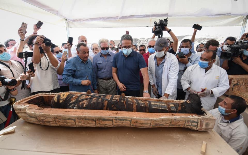 В Єгипті відкрили саркофаг з 2500-річною мумією: що було всередині? - Єгипет, археологія, археологічні розкопки - 06 grobnytsa4
