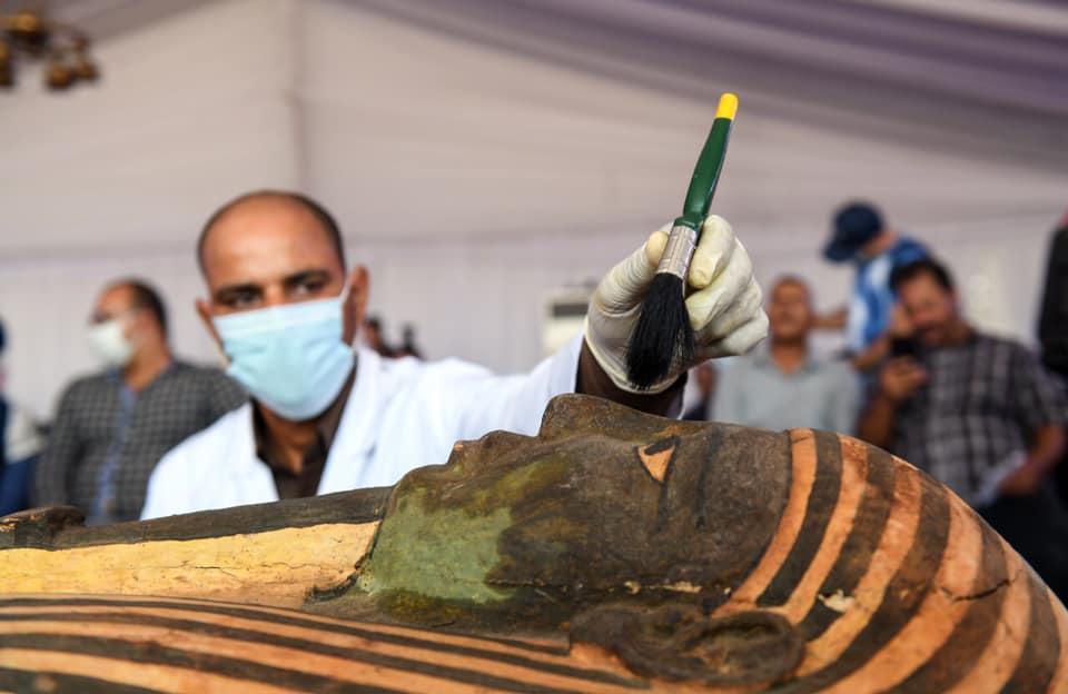В Єгипті відкрили саркофаг з 2500-річною мумією: що було всередині? - Єгипет, археологія, археологічні розкопки - 06 grobnytsa5