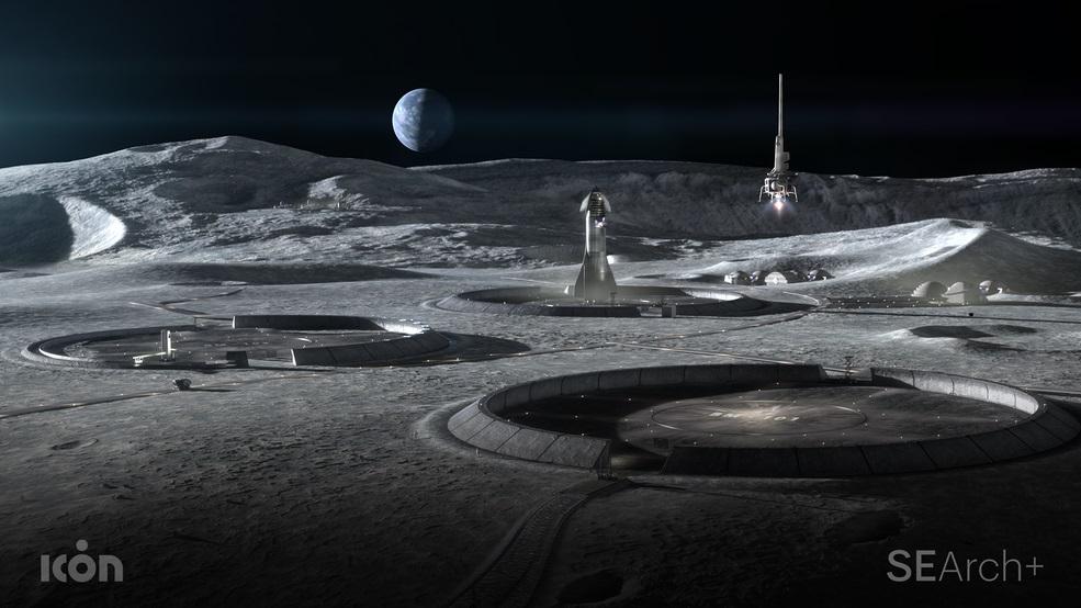 NASA створить 3D-принтер для друку споруд на Місяці та Марсі - НАСА NASA, Місяць, Марс - 07 mars
