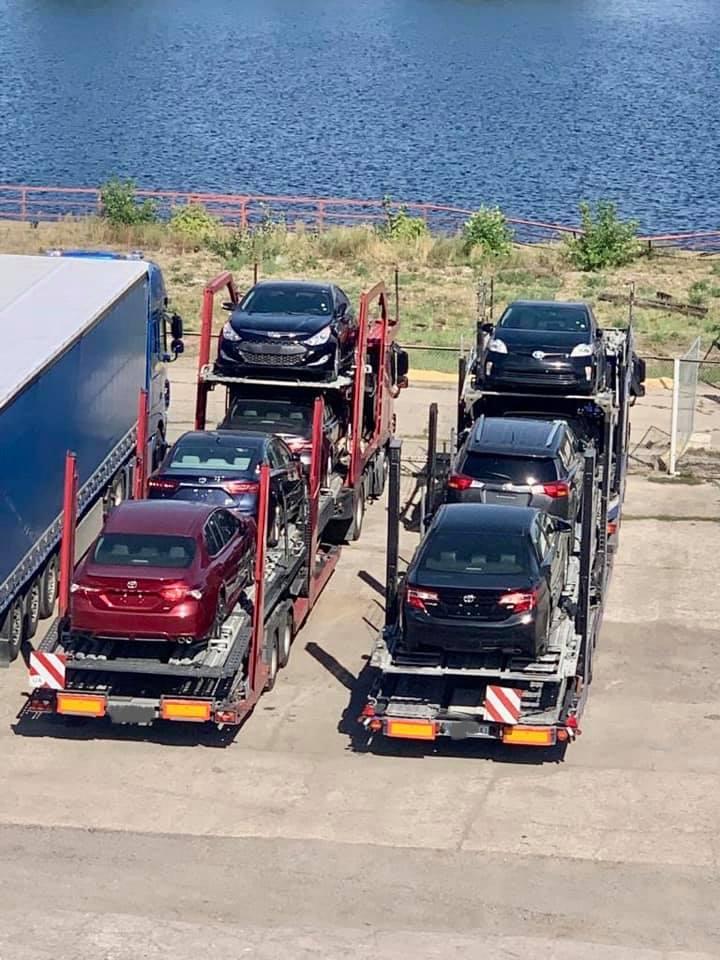 Київські митники запобігли масштабній афері із автомобілями - афера, автомобіль - 120626192 3513556585371778 7803407999904913129 n