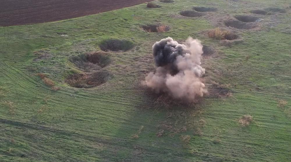 В Україні за рік виявили понад 56 тис. вибухонебезпечних предметів - снаряд, артилерійський снаряд - 121257189 3347880501926470 2176576293155591877 n