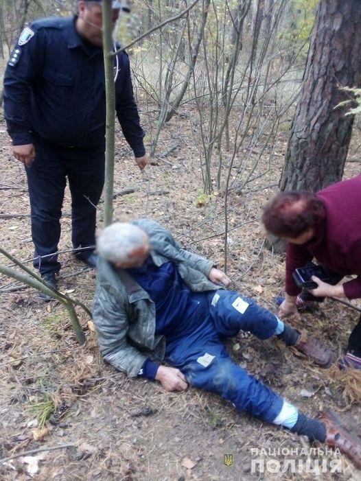 Інсульт у лісі: на Сумщині знайшли паралізованого  грибника - допомога постраждалим, грибний сезон - 121569334 3421362441283756 5013787387949644706 o