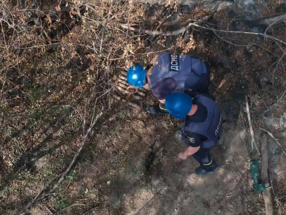 В Україні за рік виявили понад 56 тис. вибухонебезпечних предметів - снаряд, артилерійський снаряд - 121666759 378966213469486 7651816445627288603 n