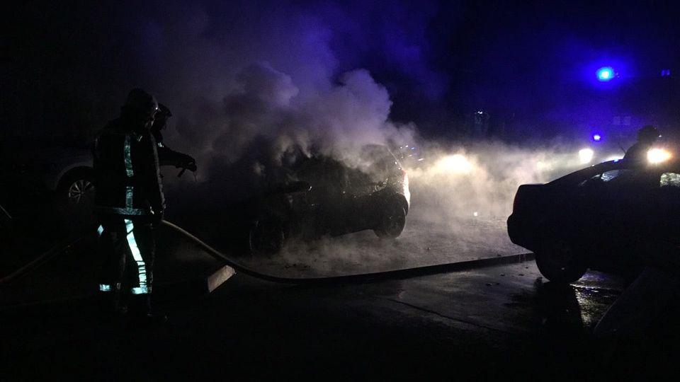 У Білій Церкві на стоянці спалахнув легковик - загорання автомобіля - 121679300 3697067760312025 3461745773072045007 o