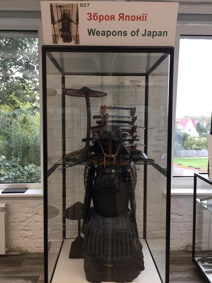 У Броварах відкрився приватний музей зброї - музей, зброя - 121703639 3362804903811082 986961414401732668 n