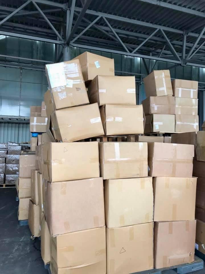 У «Борисполі» вилучили 2 мільйони захисних масок - Митниця, маски - 121736692 3562832927110810 6910935956584357823 n