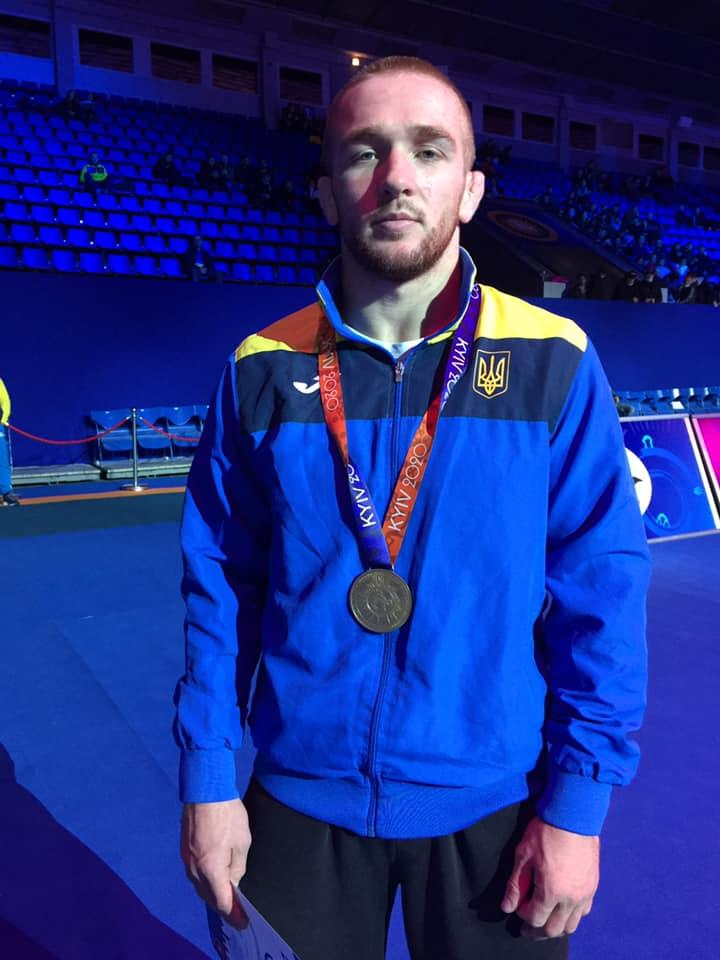 Борець з Українки здобув бронзу на Відкритому Кубку України - призери, вільна боротьба, бронза - 122068929 1790681911085666 3549481916147518506 n
