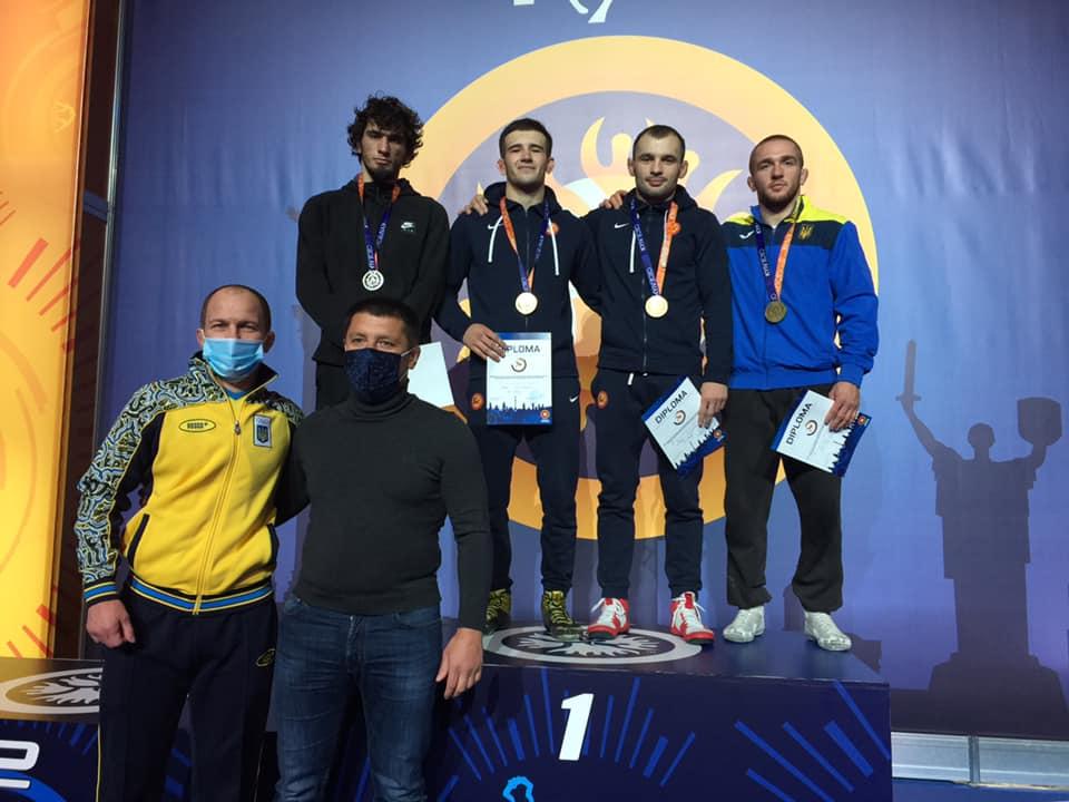 Борець з Українки здобув бронзу на Відкритому Кубку України - призери, вільна боротьба, бронза - 122121467 1790681951085662 4690207657088938409 n