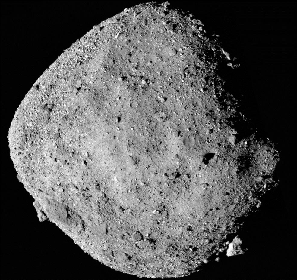 Космічний зонд Osiris-Rex наблизився до астероїда Бенну для взяття проби ґрунту - НАСА NASA, космічний корабель, космічне тіло, зонд, астероїд - 19 bennu