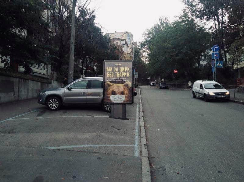 Залиш хутро тваринам: в метро і на вулицях Києва з'явилася нова соціальна реклама - Тварини, зоозахисники, захист тварин, Екологічна акція - 20 zhyvotnye2