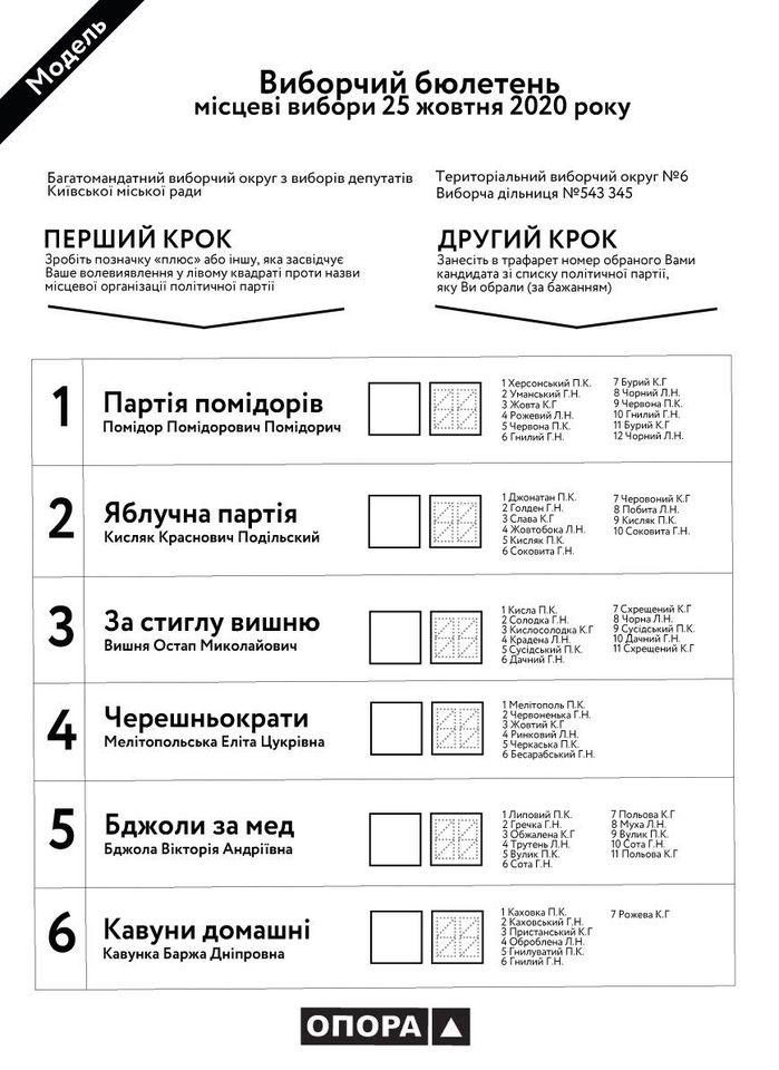 Вибори-2020: бюлетені будуть різнобарвними - ЦВК, місцеві вибори 2020, вибори-2020 - Byuleten porzhat