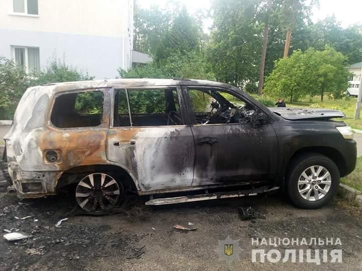 До 10 років у в'язниці загрожує підпалювачу авто у Святошинському районі -  - FB IMG 1602248646697