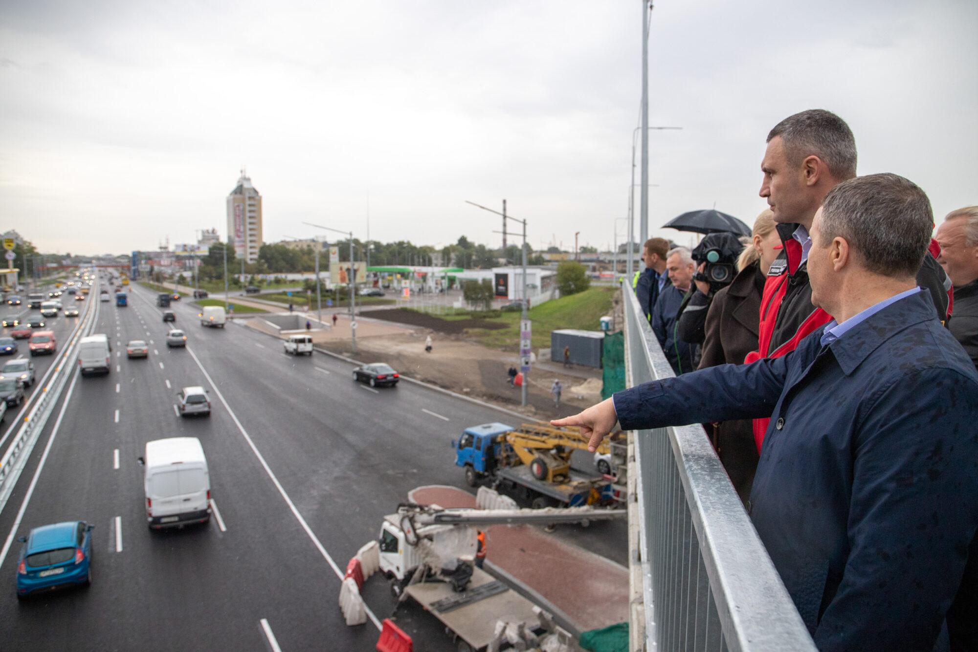 У Києві відкрили проїзд двома шляхопроводами - шляхопровід, Київ - SHlyaho osn 2000x1334