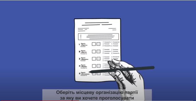 В ЦВК розповіли, як все ж заповнювати бюлетені - ЦВК, вибори - Screenshot 2
