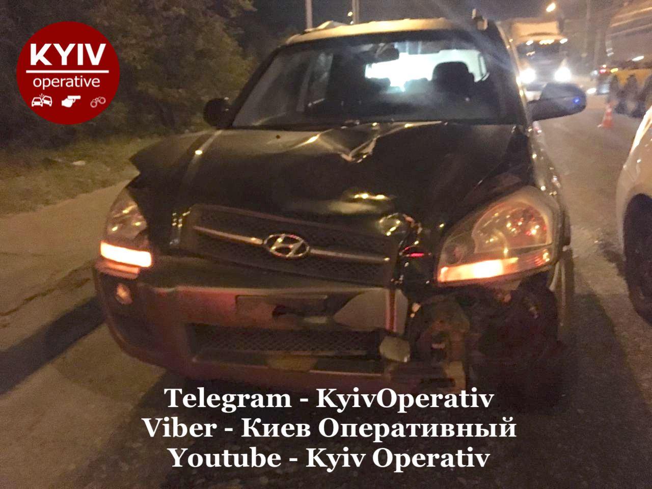 Київ: Hyundai збив пішохода - пішохід, автомобіль, Аварія на дорозі, Аварія - photo5224297875989704417 1
