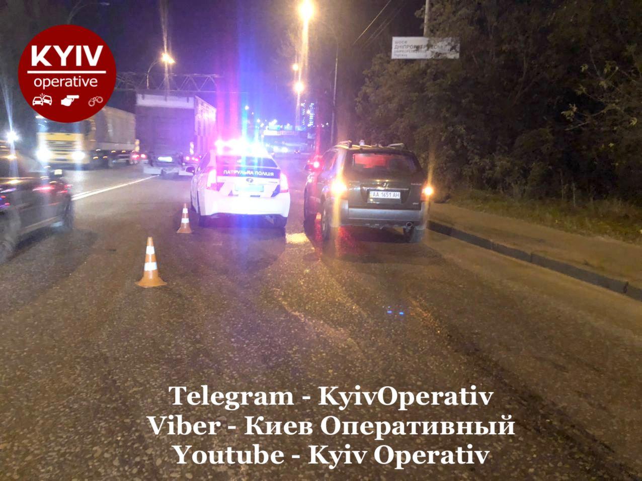 Київ: Hyundai збив пішохода - пішохід, автомобіль, Аварія на дорозі, Аварія - photo5224297875989704419