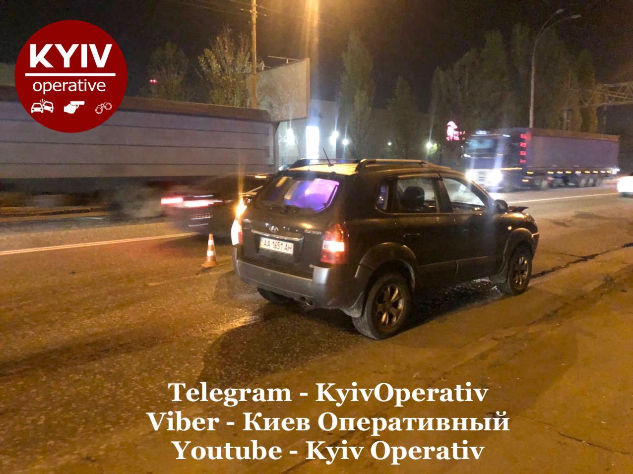 Київ: Hyundai збив пішохода - пішохід, автомобіль, Аварія на дорозі, Аварія - photo5224297875989704420