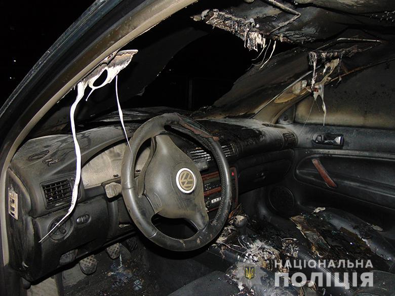 Помста за зауваження: у Святошинському районі підпалили авто -  - pidpalavtosvyatoshino2020.JPG