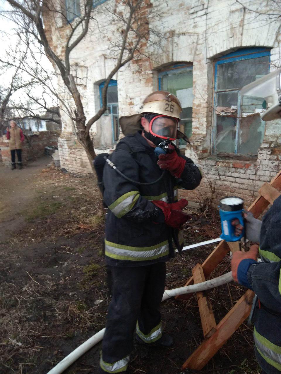 У Згурівському районі горів будинок - пожежа, Згурівка - viber image 2019 03 12  18.30.26