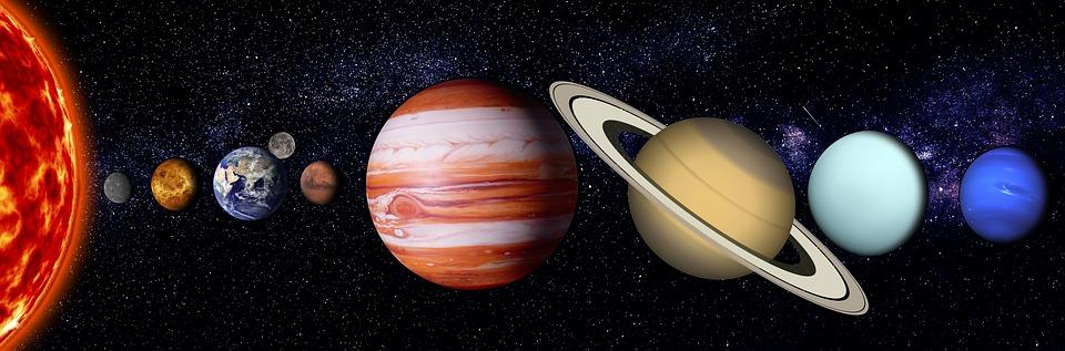 Цього тижня на небі можна побачити всі сім планет - Сонячна система, планети - 05 solnechnaya systema