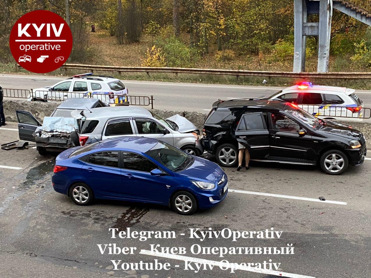 У столиці сталася смертельна ДТП за участю чотирьох авто - Аварія на дорозі, Аварія - 08 dtp