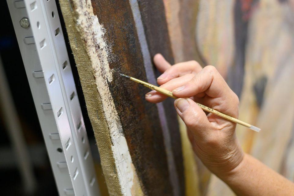 «Натурник»: у NAMU завершили реставрувати знамените полотно -  - 124144432 10157609514908144 711708642832189212 o