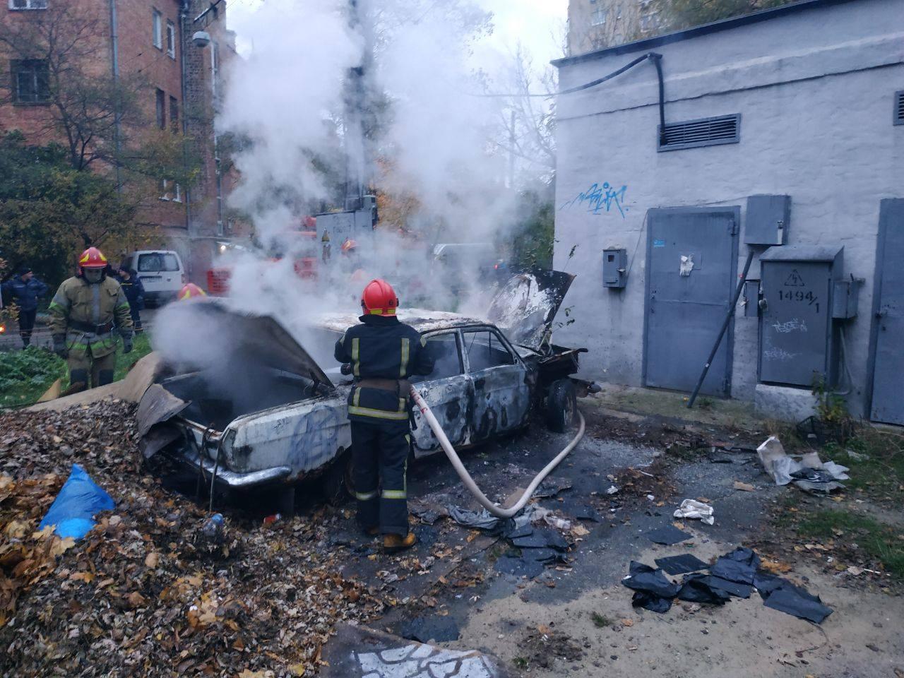 Пожежі в автомобілях: три випадки за минулу добу - Пожежа авто, автомобіль - 124419495 3477525568994027 4232501528360069679 o
