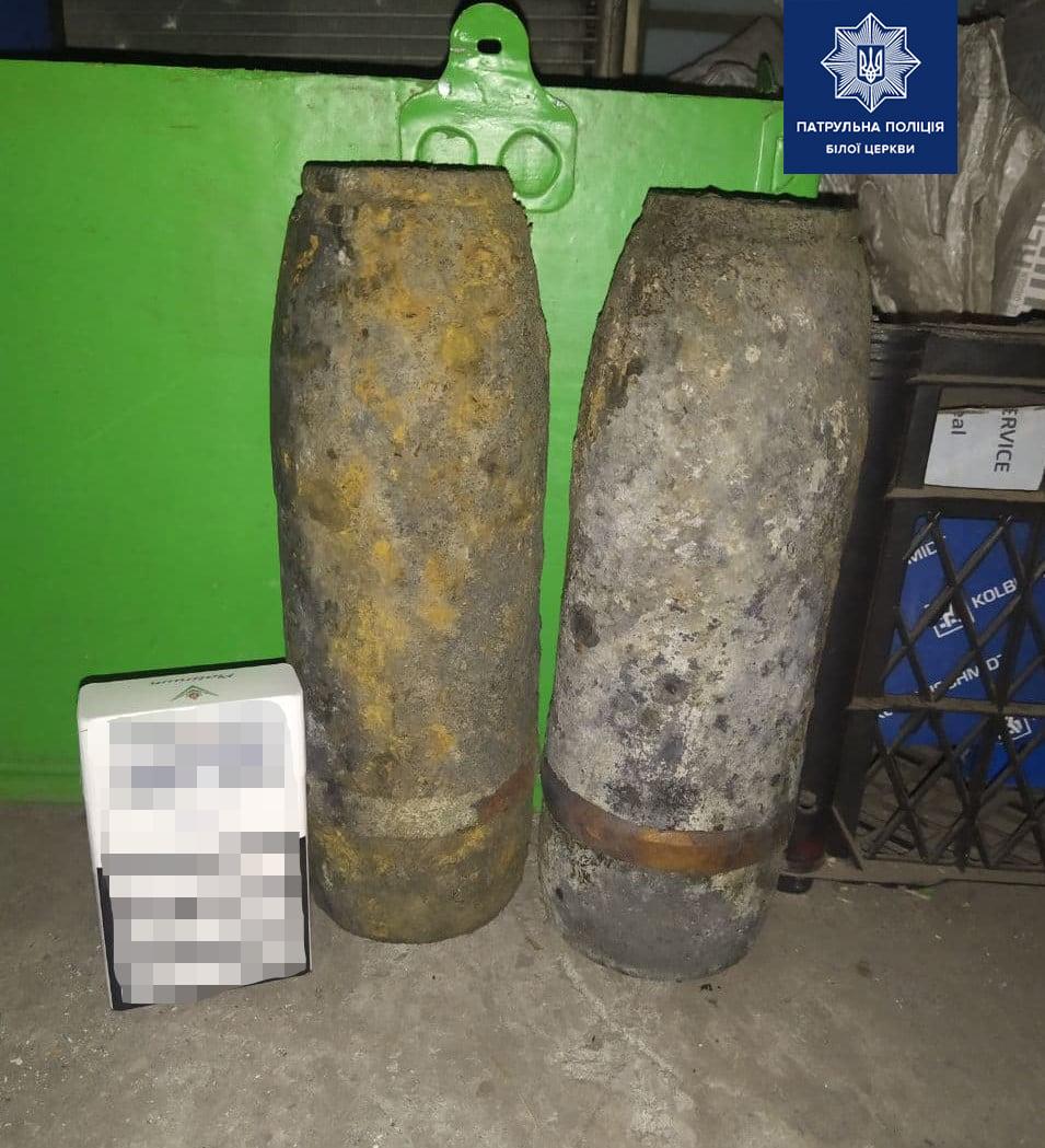 У Білій Церкві двічі за день громадяни знайшли старі боєприпаси - вибухонебезпечні предмети, боєприпаси - 124509572 1830011253832593 6509890593066998243 o