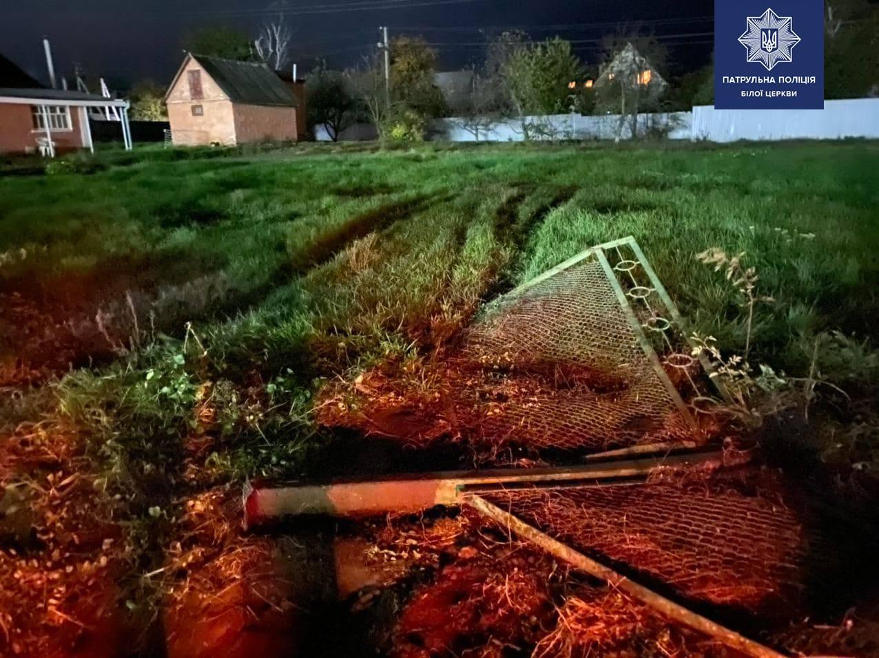 Причетний до наркозлочинів житель Київщини попався завдяки паркану -  - 124680146 1831159453717773 8378399365821165737 o