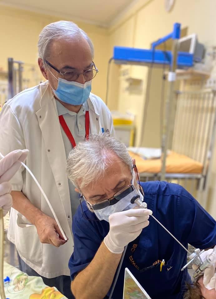 Львівські хірурги прооперували місячну дитину з рідкісною вадою - операція, немовля, Дитяча лікарня - 125482010 3265565670239774 3506612550895844222 n