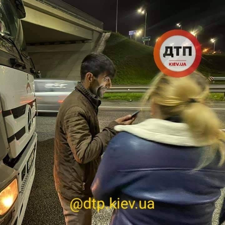 Бориспільське шосе: після зіткнення з фурою постраждав водій легковика - зіткнення, вантажівка - 126068852 1838334002999151 5836530494675963162 n