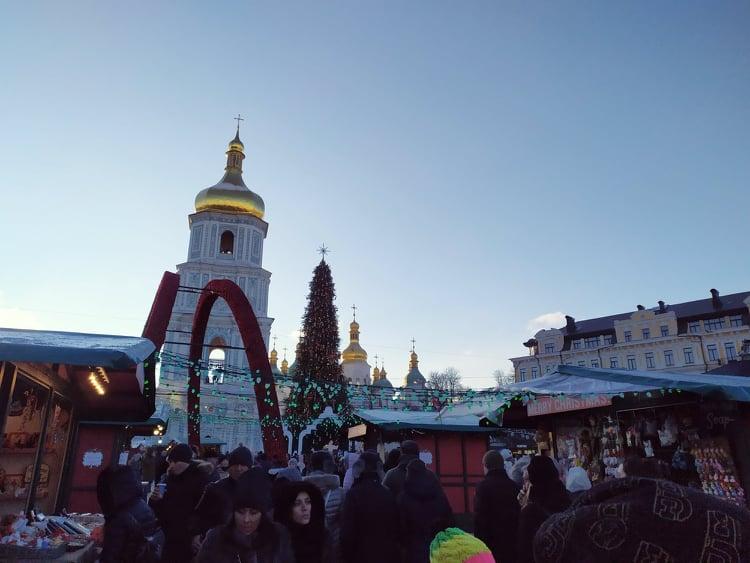 Ялинка буде, фуд-корти – ні: як виглядатиме новорічна Софійська площа - ялинкові прикраси, новорічна ялинка, Новий рік - 127013448 987528648422512 569364867847190039 n