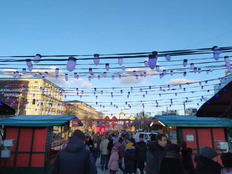 Ялинка буде, фуд-корти – ні: як виглядатиме новорічна Софійська площа - ялинкові прикраси, новорічна ялинка, Новий рік - 127242688 741372060125110 8588480240855222974 n