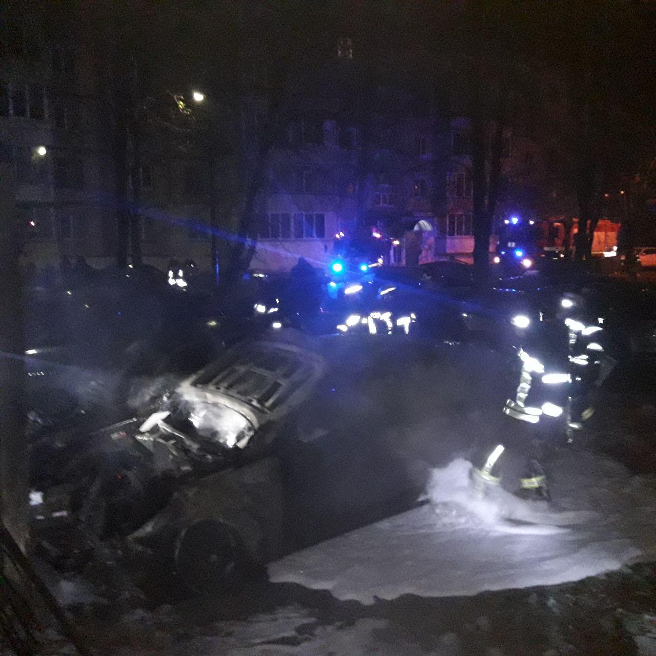 У Києві за ніч горіли два авто - Пожежа авто, пожежа, загоряння - 127263862 3507857055960878 264610931769218862 o
