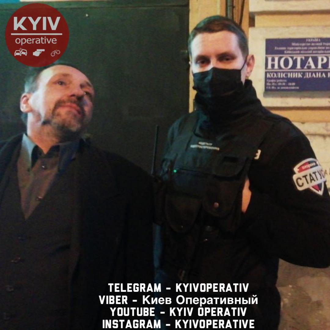 Стрілянина у центрі Києва: чоловік вирішив «пожартувати» - стрілянина, пістолет, охорона - 127533431 1146851122377639 1811750020527968272 o