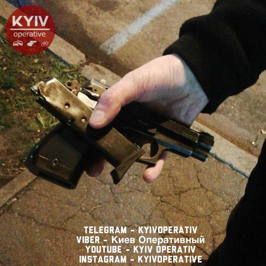 Стрілянина у центрі Києва: чоловік вирішив «пожартувати» - стрілянина, пістолет, охорона - 127618678 1146851135710971 7137766969725764043 o